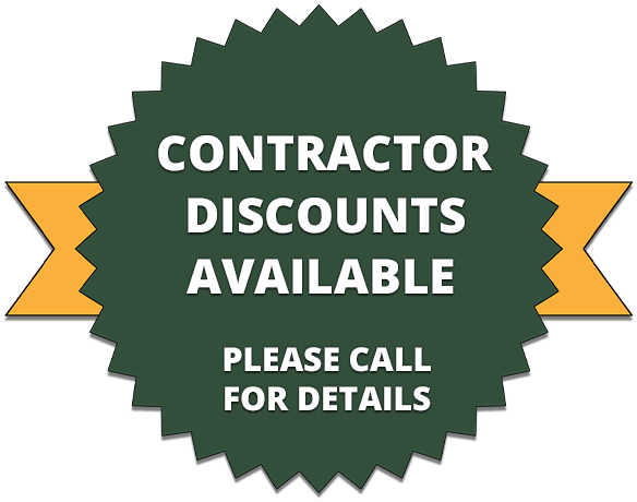 Contractor Discounts Available